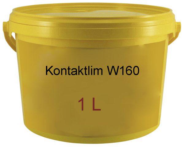 Kork Kontaktlim W160 1L