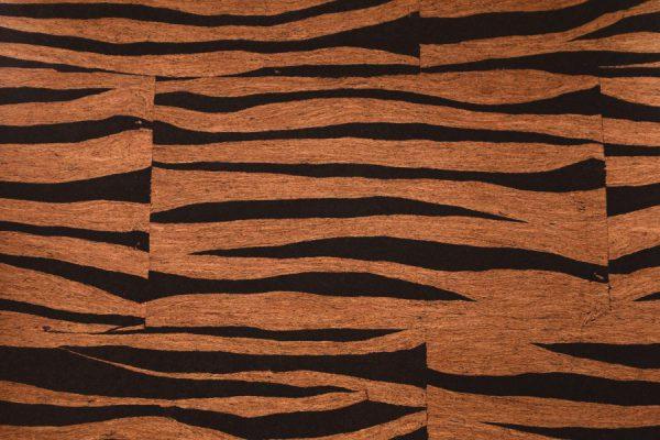 Naturlig Kork Tyg Zebra